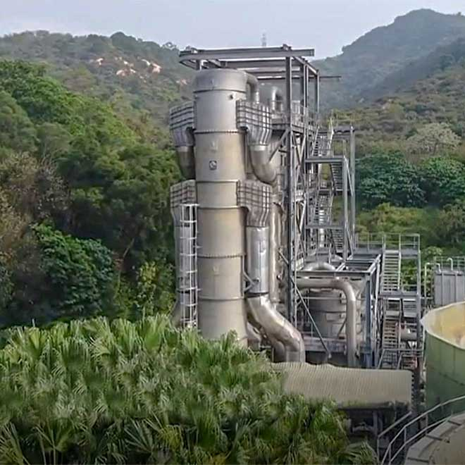 Ammonia recovery from leachate
