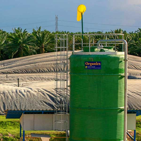 Biogas cleanup from AD lagoon, Indonesia