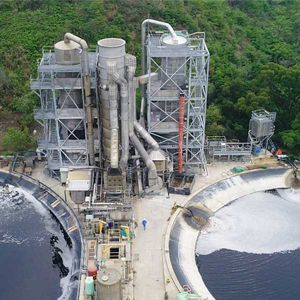 Ammonia recovery from leachate NENT LFS
