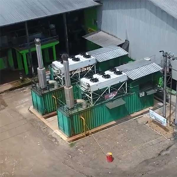 Power generation from AD biogas, Indonesia